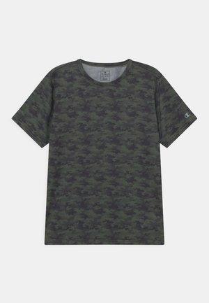 PERFORMANCE UNISEX - Print T-shirt - khaki