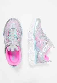 Skechers - GALAXY LIGHTS - Trainers - silver/multicolor - 1