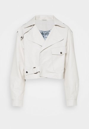 KAYSER - Leather jacket - jet stream