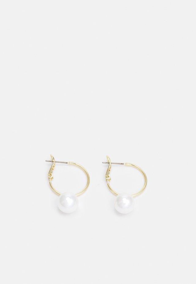 ROUND EAR - Orecchini - gold-coloured