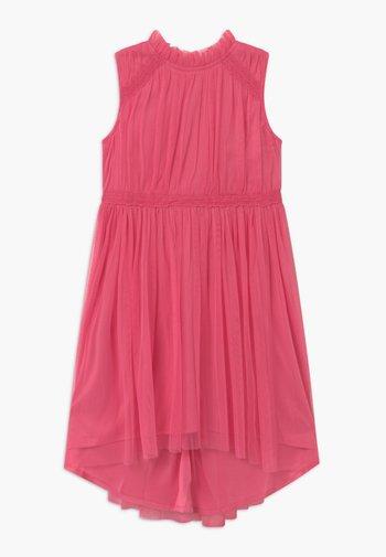Koktejlové šaty/ šaty na párty - confetti pink