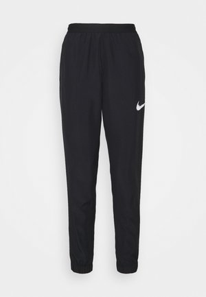 RUN PANT - Tracksuit bottoms - black/grey fog/white