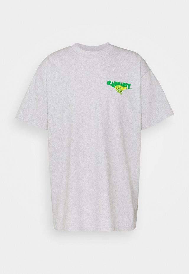 RUNNER - T-shirt imprimé - ash heather
