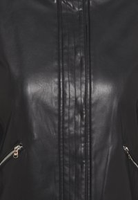 Patrizia Pepe - BUTTON JACKET - Faux leather jacket - nero - 2