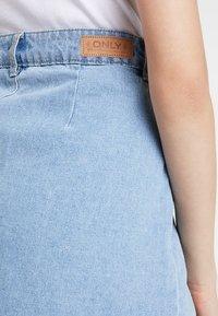 ONLY - ONLFARRAH SKIRT  - A-line skirt - light blue denim - 5