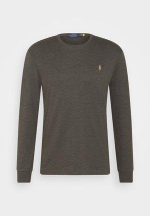 PIMA - Long sleeved top - dark charcoal heather