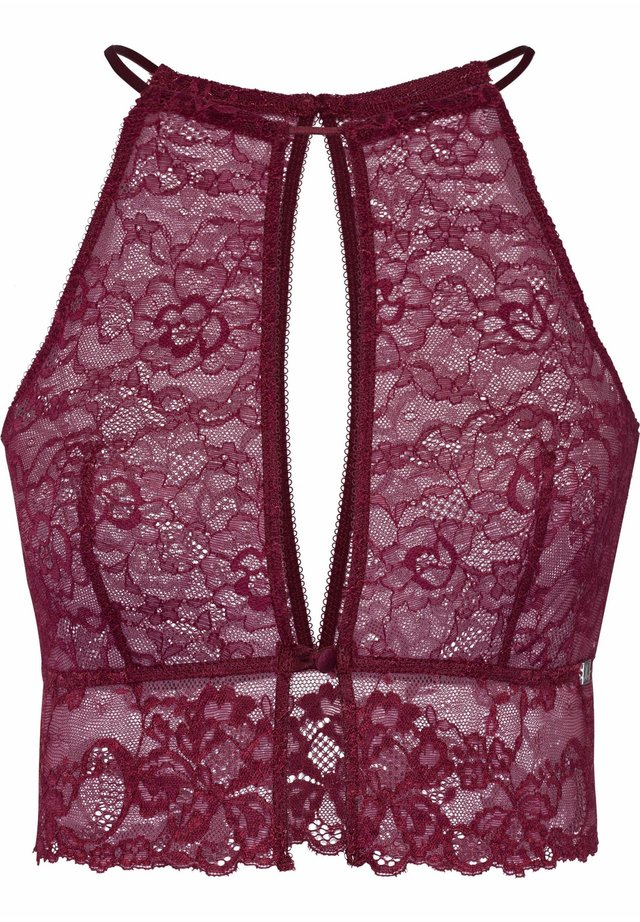 STRONG - Bustier - bordeaux