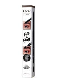 Nyx Professional Makeup - FILL & FLUFF EYEBROW POMADE PENCIL - Augenbrauenstift - 6 brunett - 1