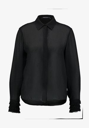 NICOLETTE - Skjortebluser - schwarz