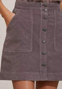 Odd Molly - HOLLY - Mini skirt - steel grey - 4