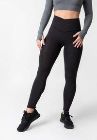 OGY Apparel - AMINTA GLEAM WORKOUT  - Legging - black - 0