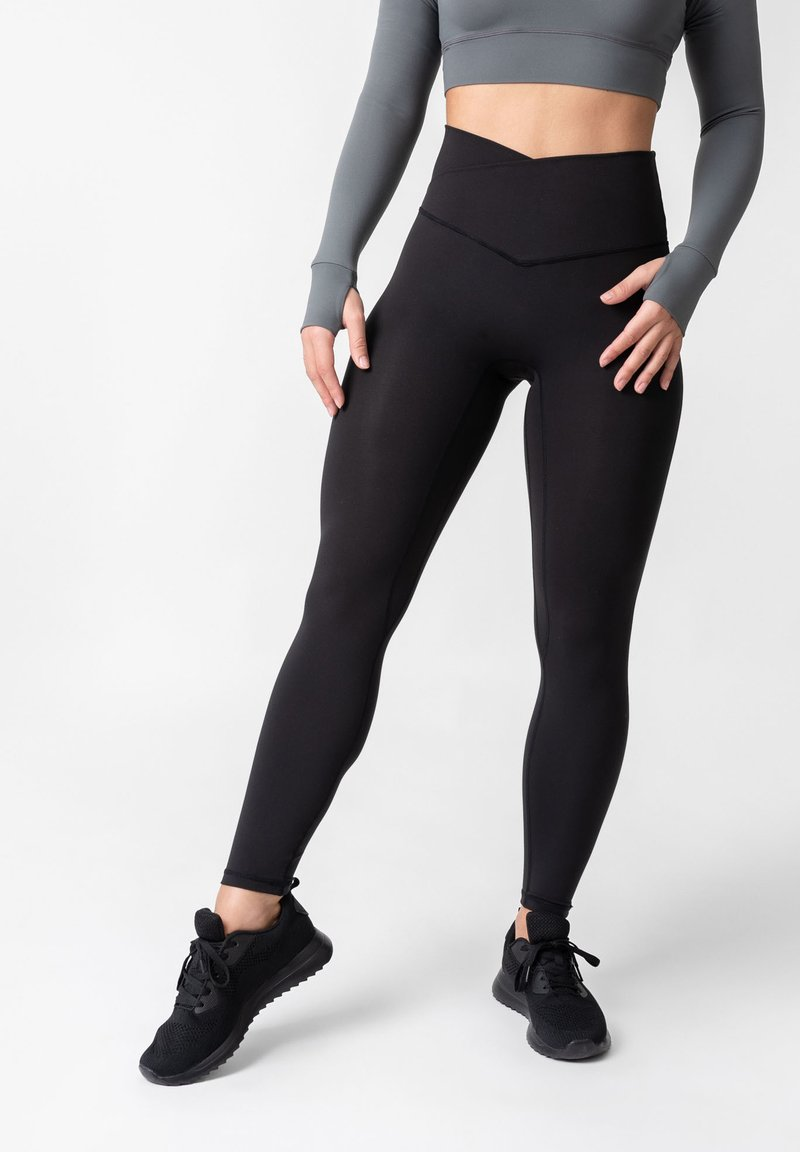 OGY Apparel - AMINTA GLEAM WORKOUT  - Leggings - Trousers - black