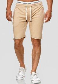 INDICODE JEANS - ALDRICH - Shorts - sand - 0