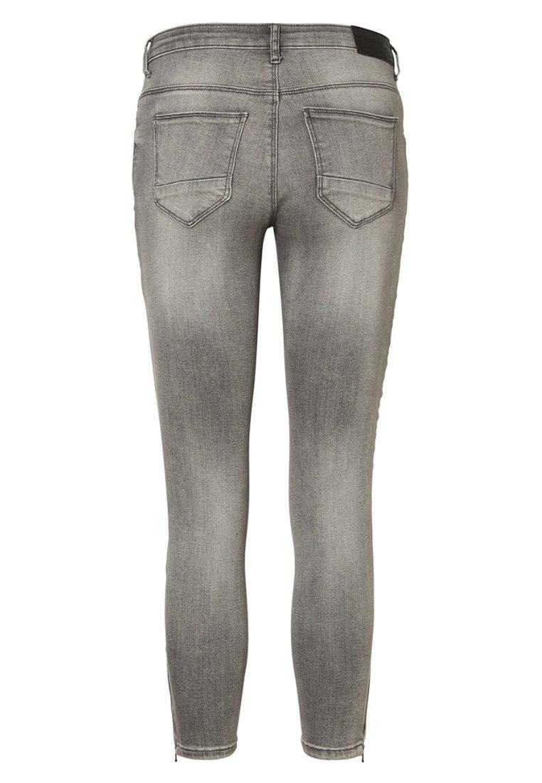 Noisy May Jeans Slim Fit - light grey denim/grey denim ttUWEa