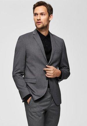 SLIM FIT - Blazer jacket - dark grey melange