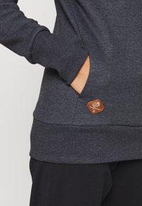 Ragwear - GRIPY BOLD - Sweat à capuche - black - 4