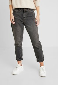 Topshop Petite - MOM CLEAN - Jeansy Relaxed Fit - washed - 0