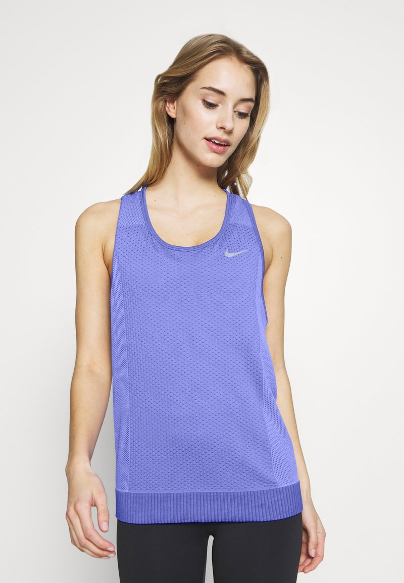 Nike Performance - W NK INFINITE TANK - Camiseta de deporte - sapphire/light thistle