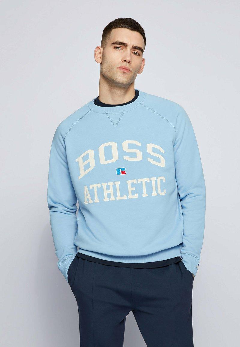 BOSS - STEDMAN_RA - Sweater - open blue