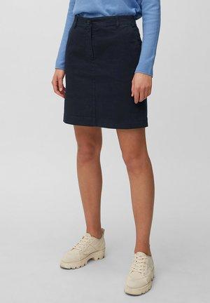 A-line skirt - midnight blue