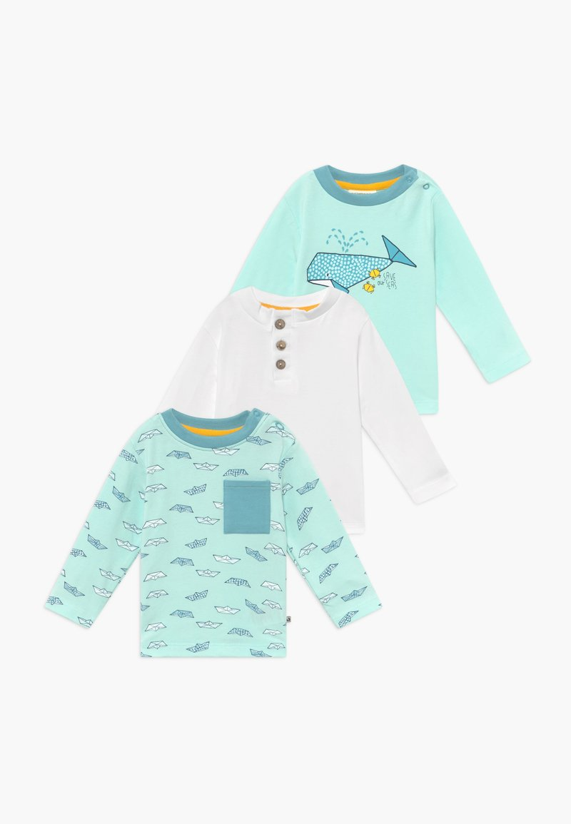 Jacky Baby - SAVE OUR SEAS 3 PACK - Long sleeved top - mint