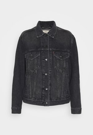 WELLTHREAD TRUCKER - Veste en jean - earth stone