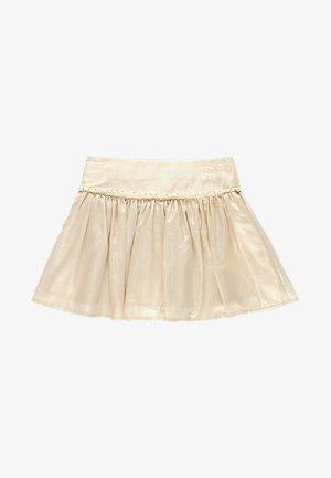 Plisovaná sukně - chocolate