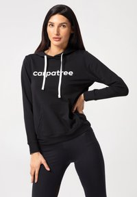 carpatree - DREAM - Felpa con cappuccio - black - 0