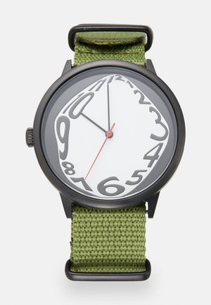 ALEXIS FOR SKATEISTAN UNISEX - Watch - black/army green