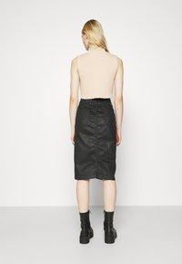 Diesel - D-ELBEE-NE SKIRT - Pencil skirt - black - 2