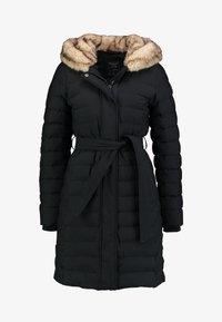 Abercrombie & Fitch - LONG PARKA - Down coat - black - 6