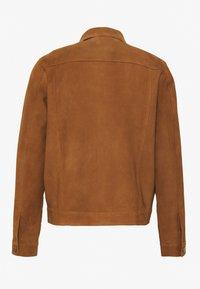 Nudie Jeans - DANTE - Leather jacket - camel - 1
