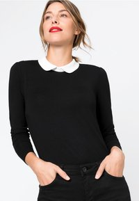 HALLHUBER - Long sleeved top - black - 0