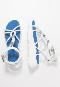 Sportmax - DIRETTA - Platform sandals - bianco - 3