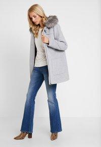 Esprit Collection - MIX COAT - Kurzmantel - light grey - 1