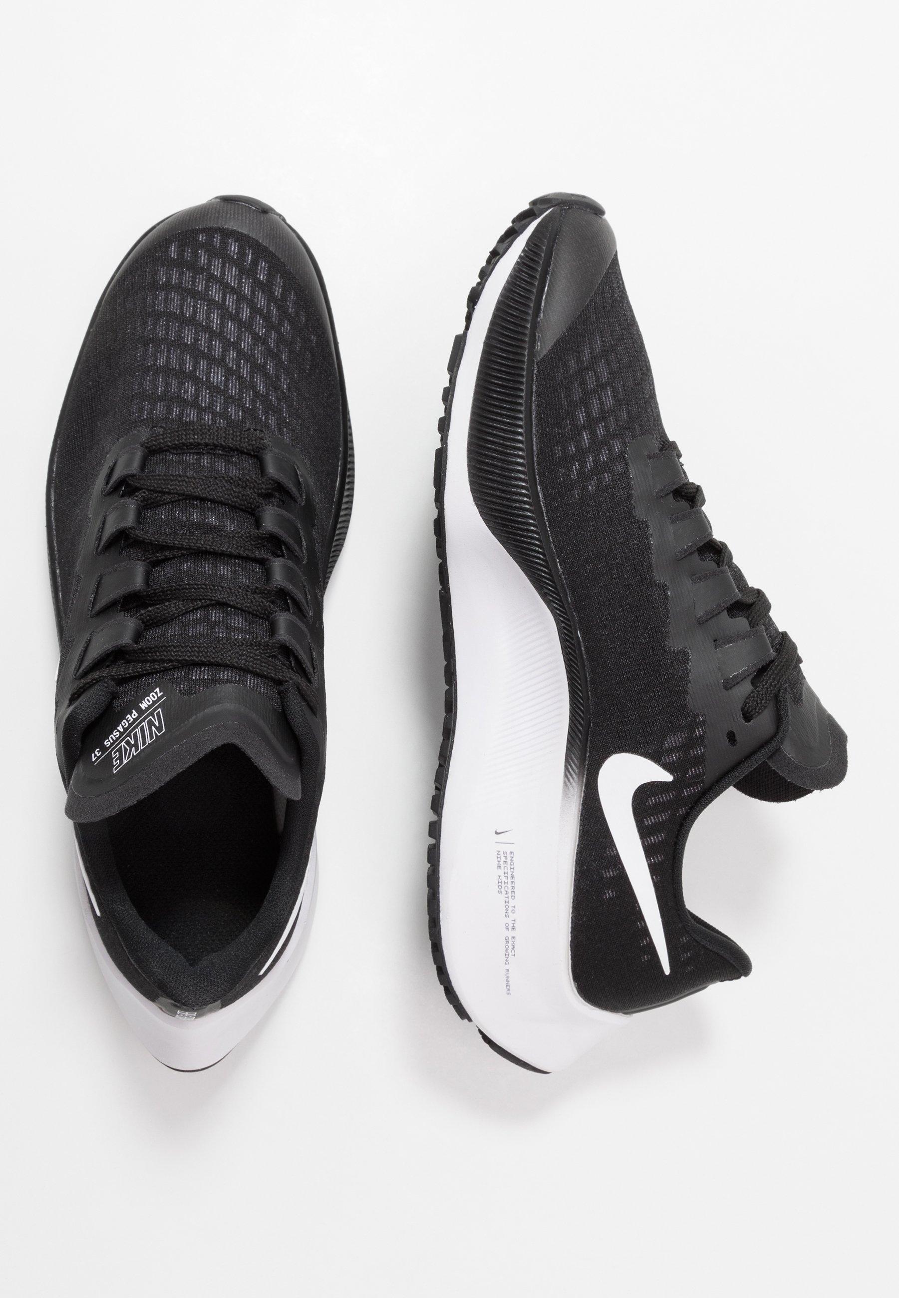 Peticionario Aplicando compañero  Nike Performance AIR ZOOM PEGASUS 37 UNISEX - Zapatillas de running neutras  - black/white/negro - Zalando.es