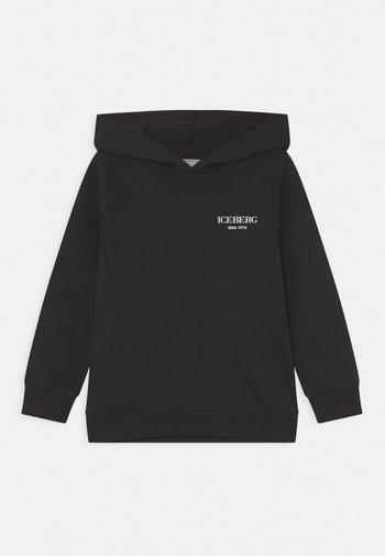 CHIUSA CON CAPPUCCIO - Sweatshirt - nero