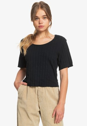 WILD WESTLAND - Print T-shirt - black