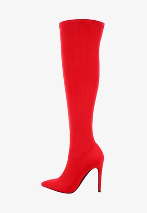 BALLETTO - High Heel Stiefel - red
