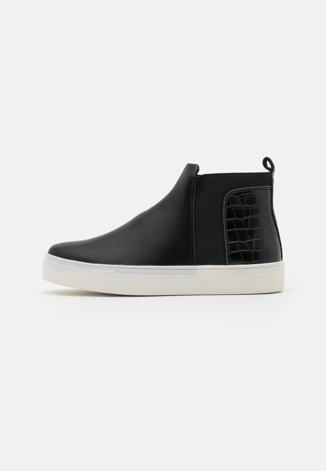 WIDE FIT CODY - Ankle boots - black