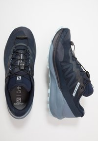 Salomon - SENSE RIDE 3 - Løbesko trail - navy blazer/flint - 1