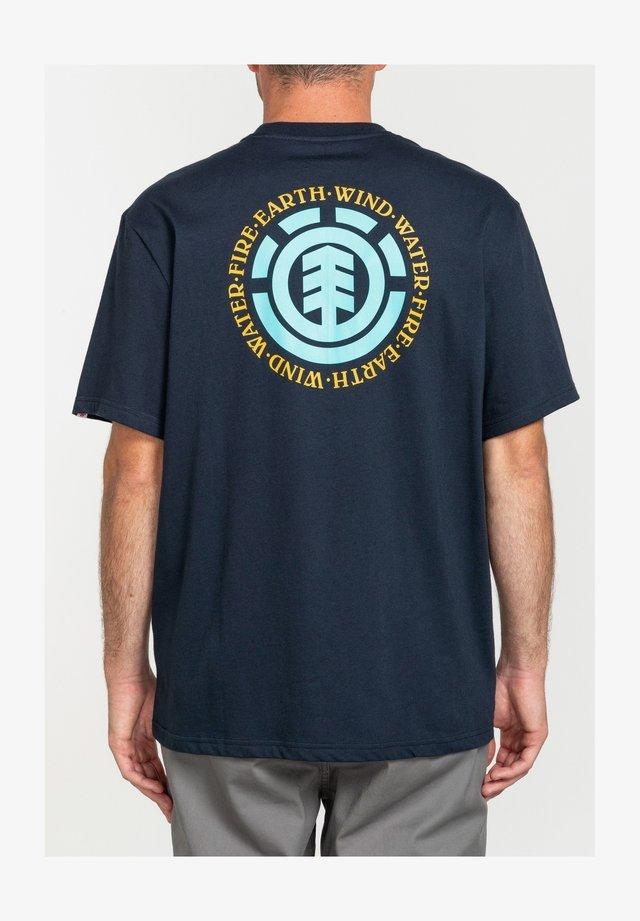 SEAL BP - T-shirt print - eclipse navy