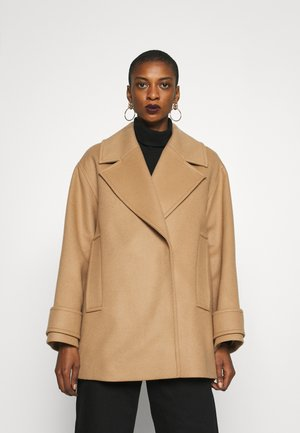 EGG SHAPED COAT - Classic coat - camel