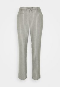 comma casual identity - LANG - Trousers - grey melange - 0