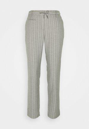 LANG - Trousers - grey melange