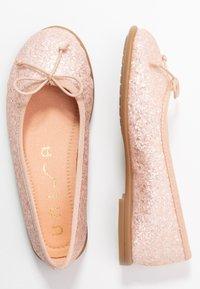 Unisa - SIE - Ballet pumps - rose glitter - 0