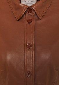 Part Two - EDYTA - Day dress - chocolate glaze - 2