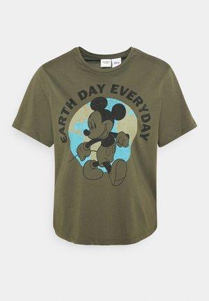 JDYNINA LIFE  - Print T-shirt - khaki
