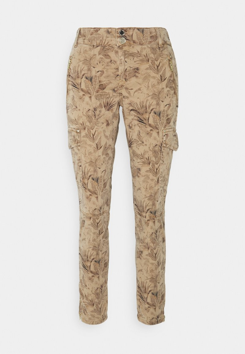 Mos Mosh - GILLES MAZE PANT - Trousers - cuban sand