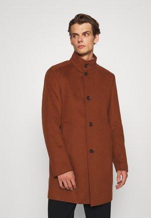 Classic coat - rust/copper